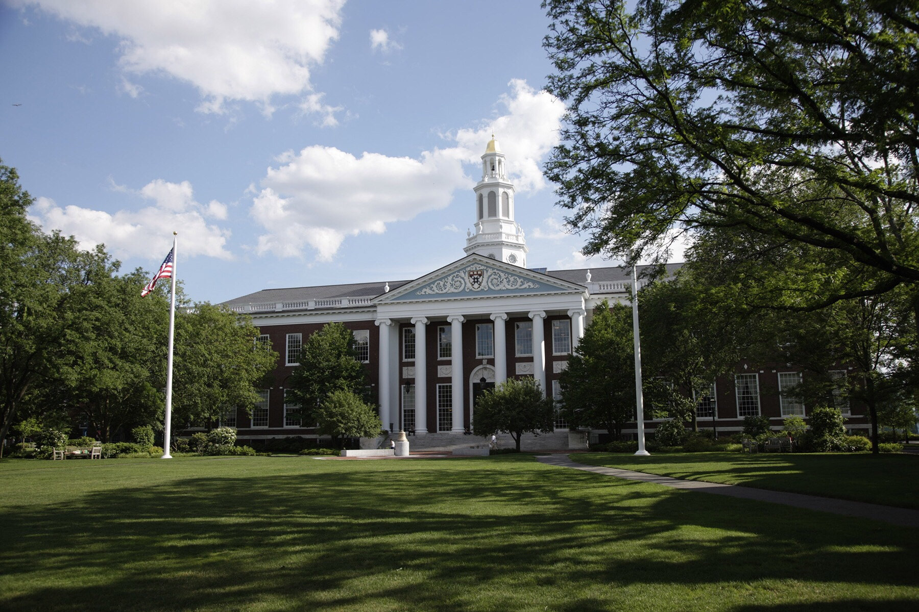 Baker Library at Harvard Business School