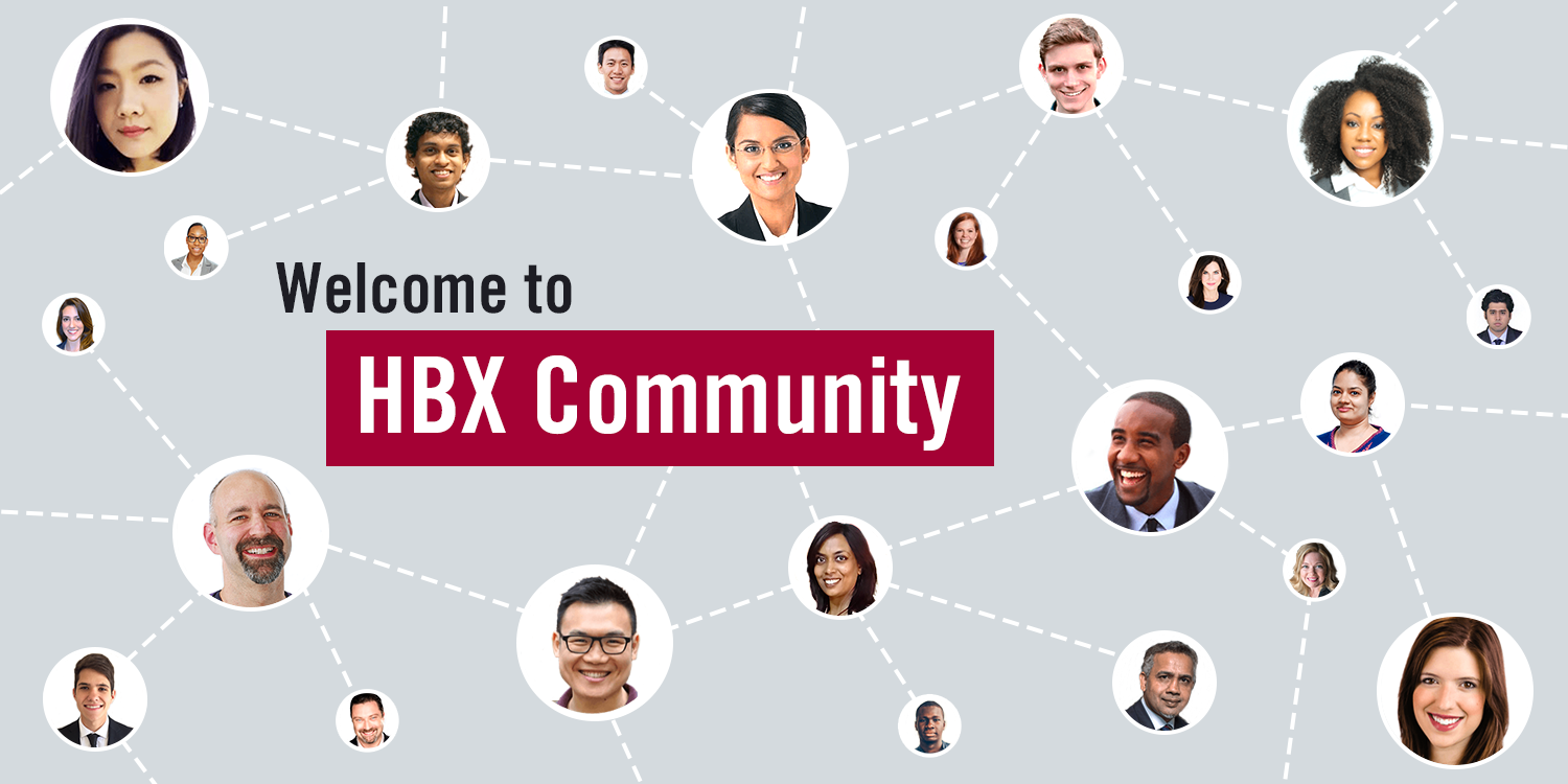 Welcome to HBX Community!
