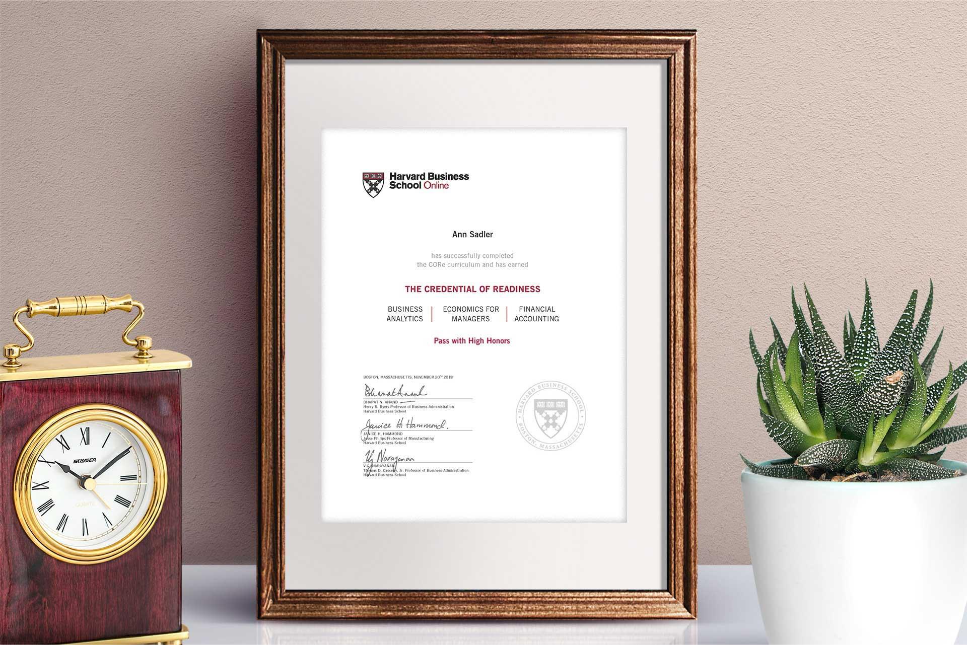 Online Course: Business Fundamentals | Harvard Business