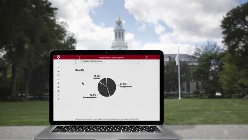 Play an Introduction to the HBS Online platform video